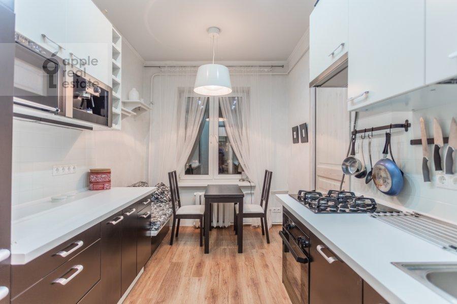 Kitchen of the 3-room apartment at Tverskaya-Yamskaya 3-ya ul. 26