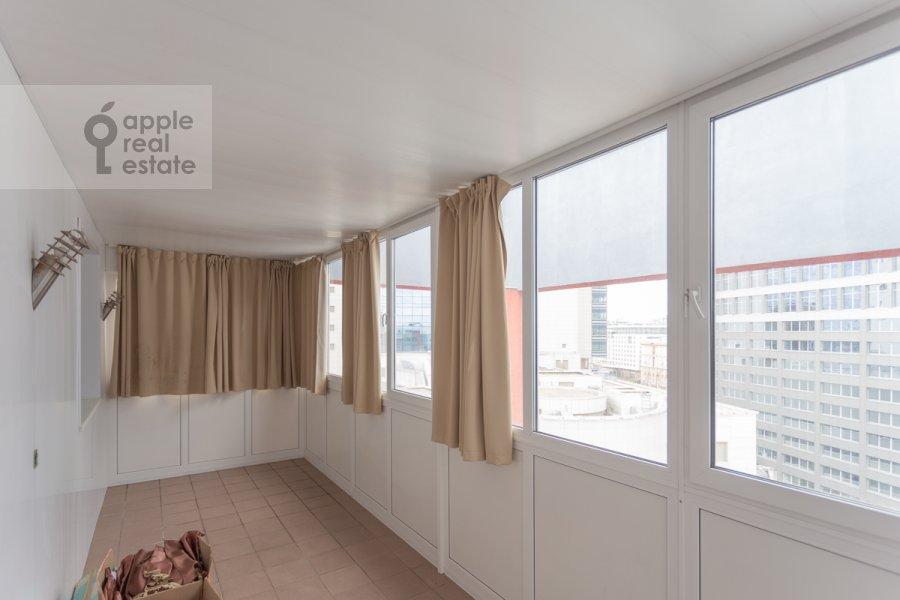 Балкон / Терраса / Лоджия в квартире-студии по адресу Композиторская ул. 17