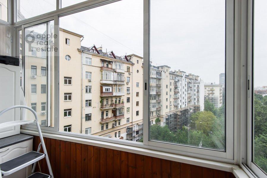 Balcony / Terrace / Loggia of the 2-room apartment at Leninskiy prosp. 13