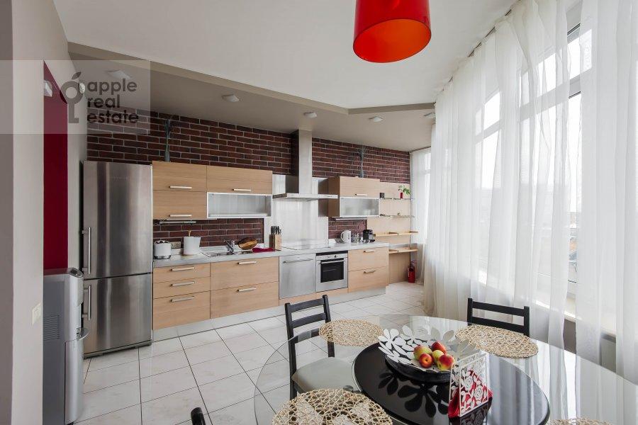 Kitchen of the 4-room apartment at Leningradskiy pr-t. 52
