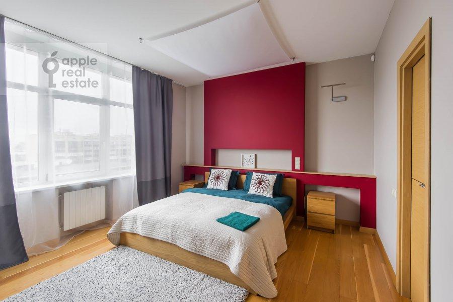 Bedroom of the 4-room apartment at Leningradskiy pr-t. 52