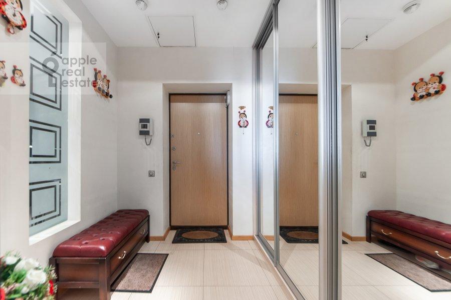 Corridor of the 3-room apartment at Mosfil'movskaya ulitsa 70k3