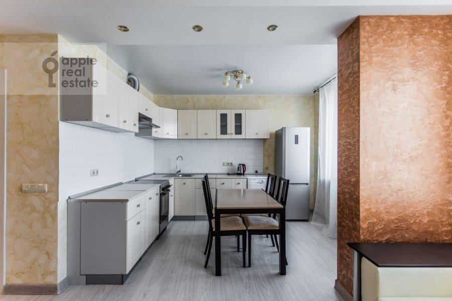 Kitchen of the 3-room apartment at Khoroshevskoe shosse 12k1