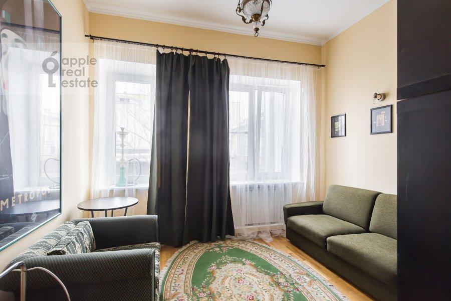 Детская комната / Кабинет в 3-комнатной квартире по адресу Ленинградский пр-т. 26к2