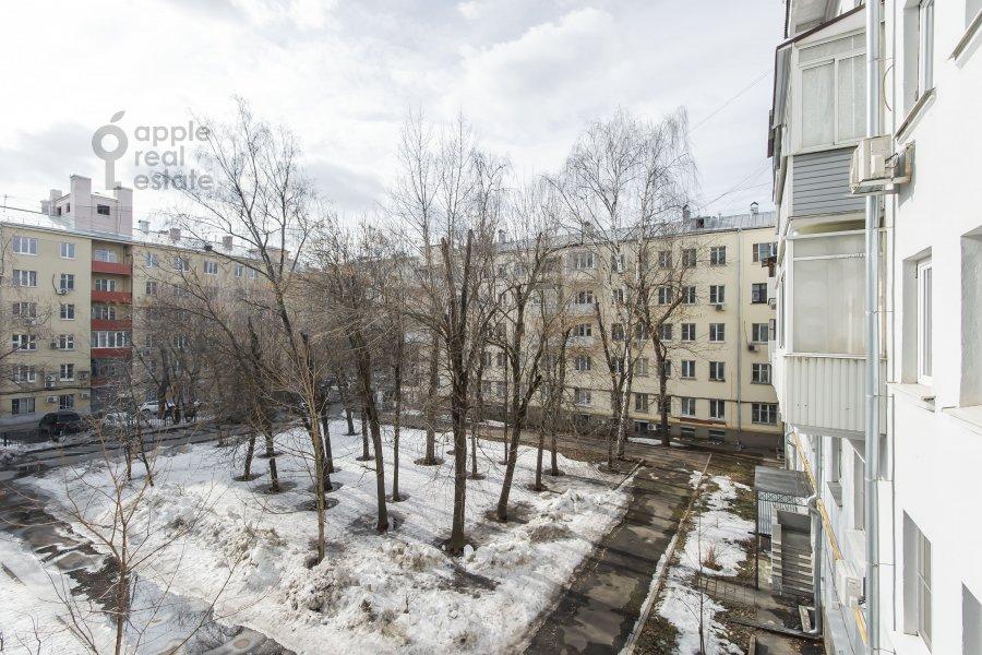 Вид из окна в 3-комнатной квартире по адресу Ленинградский пр-т. 26к2