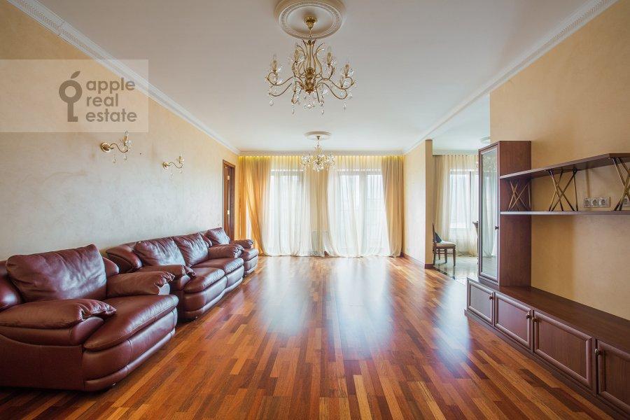 Гостиная в 5-комнатной квартире по адресу Трехгорный Вал ул. 14с1
