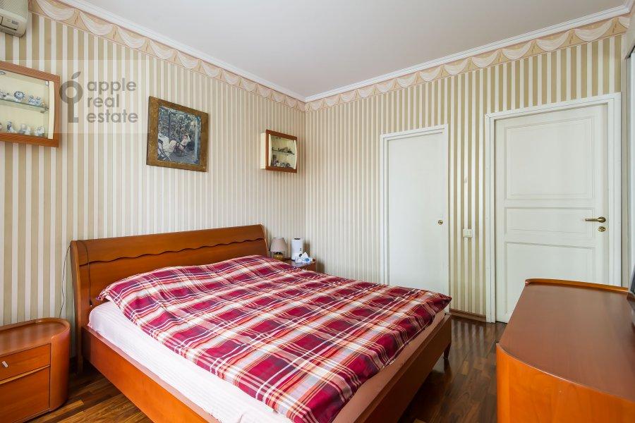 Bedroom of the 3-room apartment at Leninskiy pr-t. 26