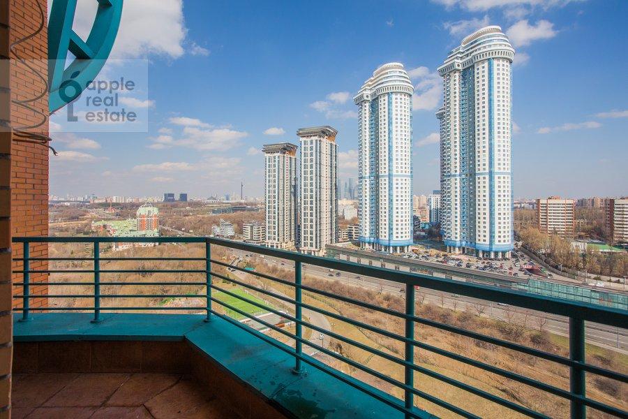 Balcony / Terrace / Loggia of the 2-room apartment at Minskaya ul. 1gk1