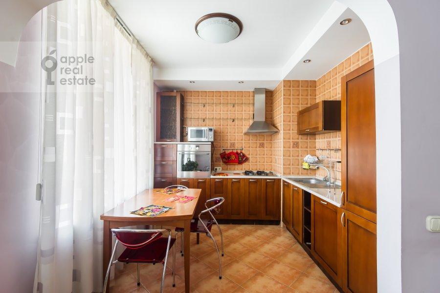 Kitchen of the 3-room apartment at Kutuzovskiy prospekt 4/2