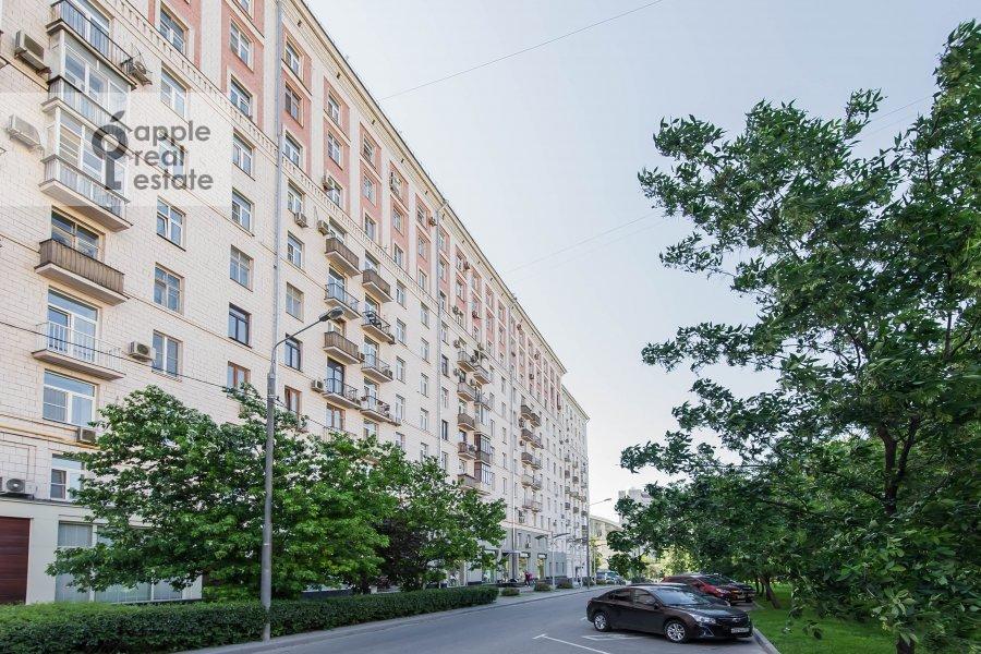 Photo of the house of the 3-room apartment at Kutuzovskiy prospekt 4/2