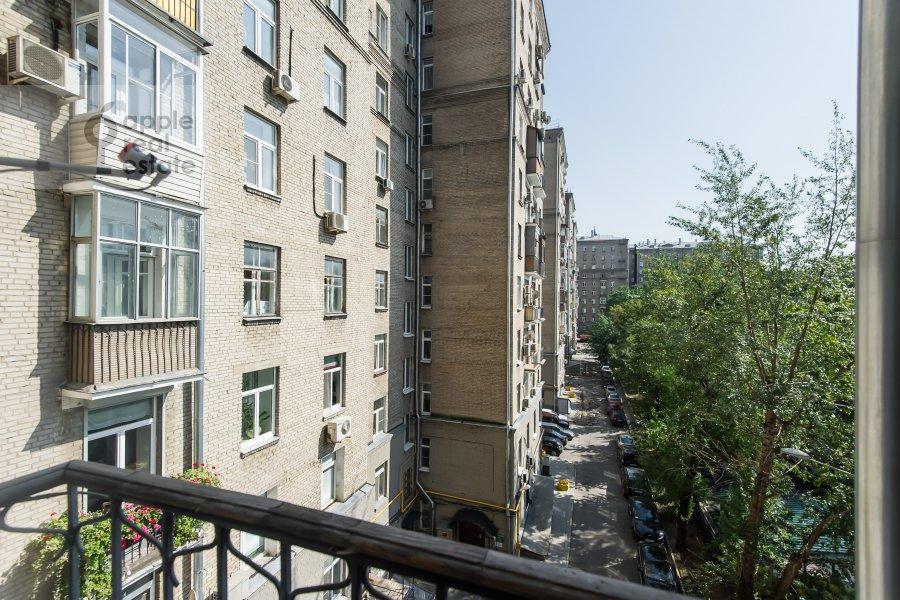 Balcony / Terrace / Loggia of the 3-room apartment at Kutuzovskiy prospekt 4/2