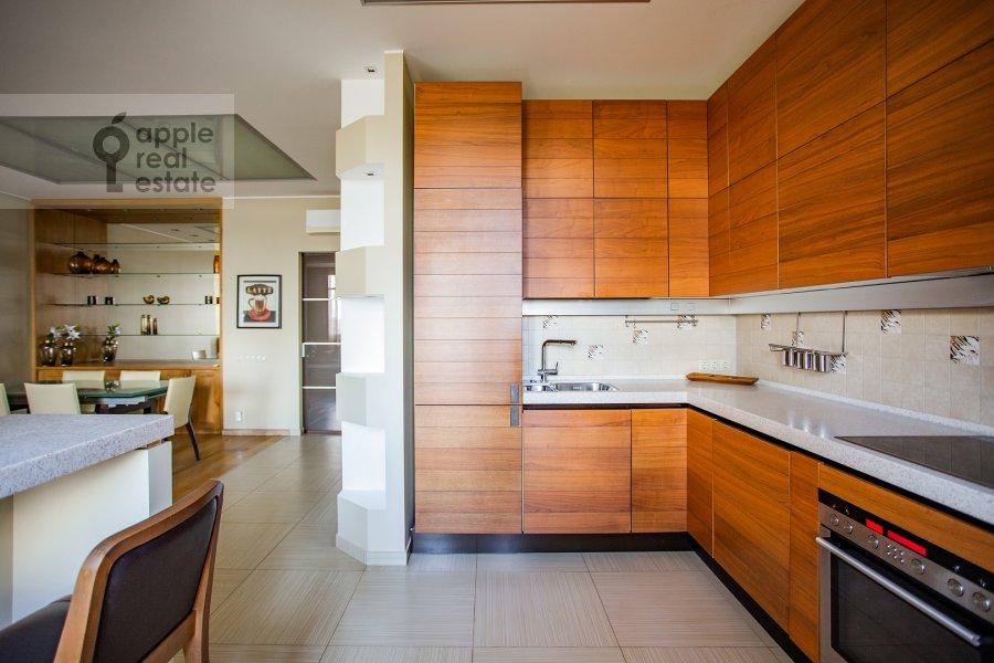 Kitchen of the 4-room apartment at Aviakonstruktora Mikoyana 14k4