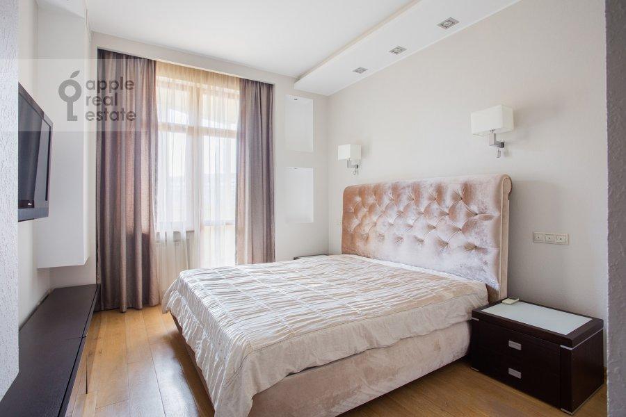 Bedroom of the 4-room apartment at Aviakonstruktora Mikoyana 14k4
