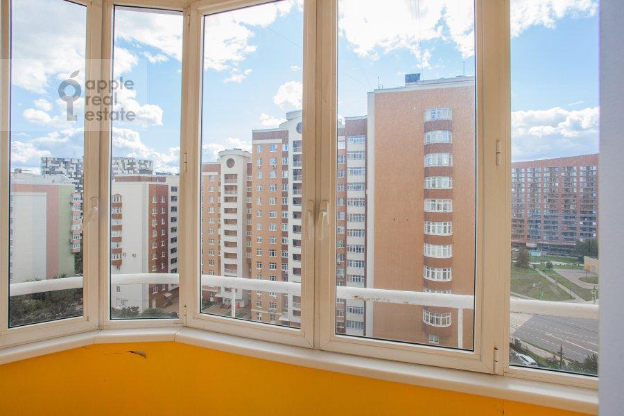 Balcony / Terrace / Loggia of the 4-room apartment at Aviakonstruktora Mikoyana 14k4
