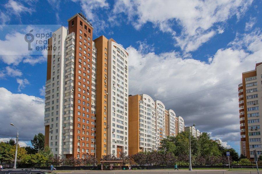Photo of the house of the 4-room apartment at Aviakonstruktora Mikoyana 14k4