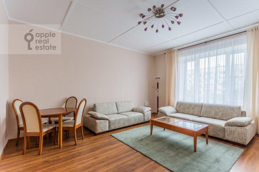 Гостиная в 2-комнатной квартире по адресу Астраханский пер. 10/36с1
