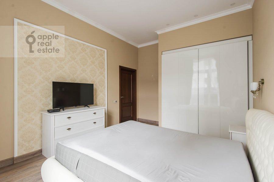 Bedroom of the 3-room apartment at Lyusinovskiy 3-y per. 1S1