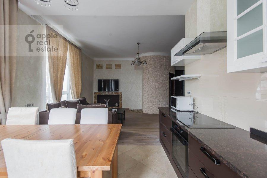 Kitchen of the 3-room apartment at Lyusinovskiy 3-y per. 1S1