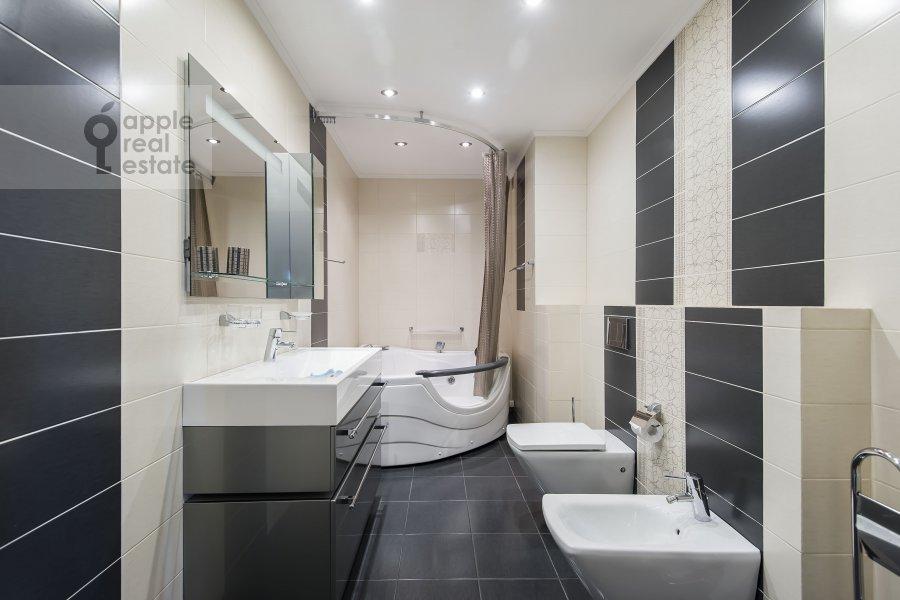 Bathroom of the 3-room apartment at Khoroshevskoe sh. 16k1