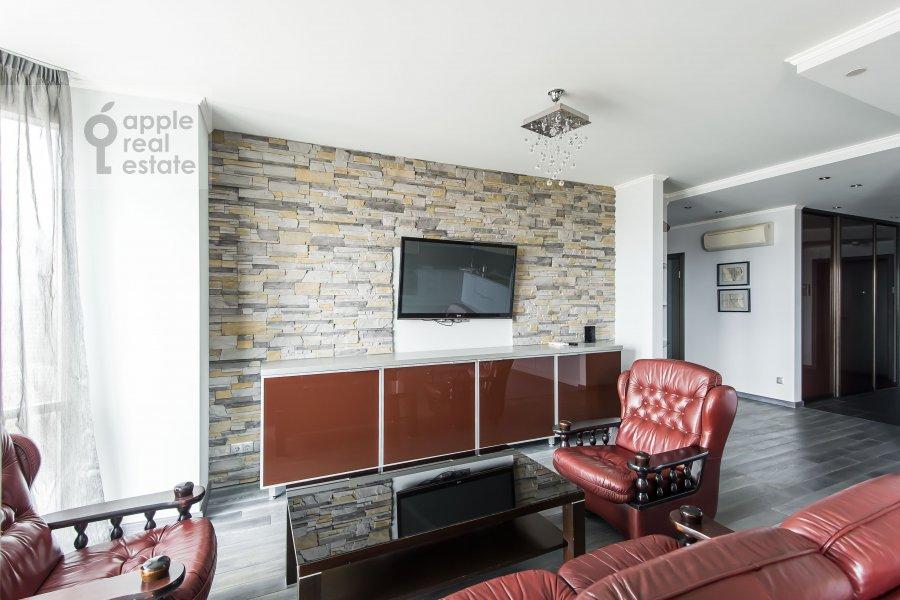 Living room of the 3-room apartment at Khoroshevskoe sh. 16k1