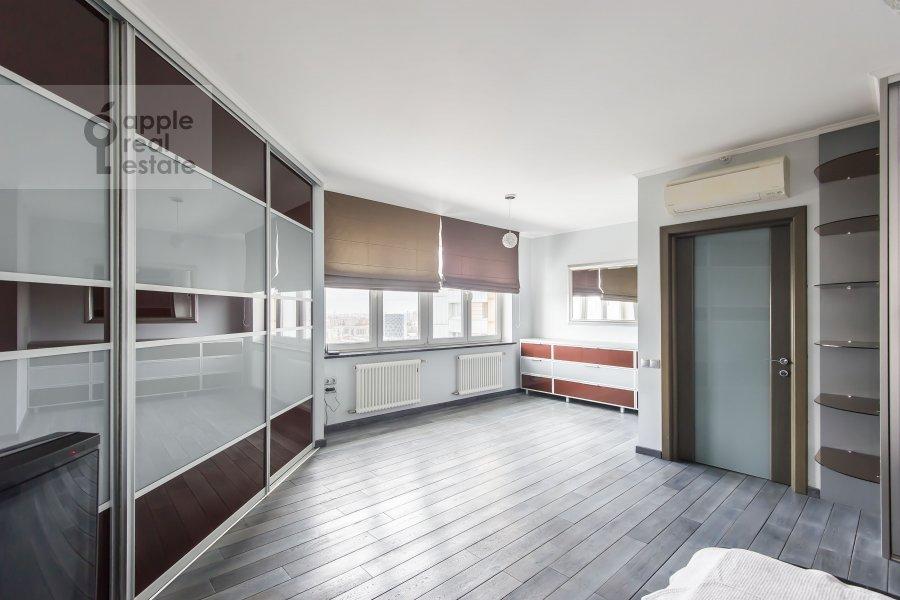 Bedroom of the 3-room apartment at Khoroshevskoe sh. 16k1