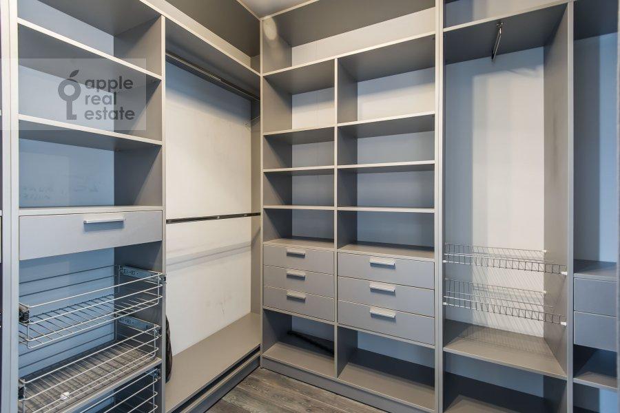 Walk-in closet / Laundry room / Storage room of the 3-room apartment at Khoroshevskoe sh. 16k1