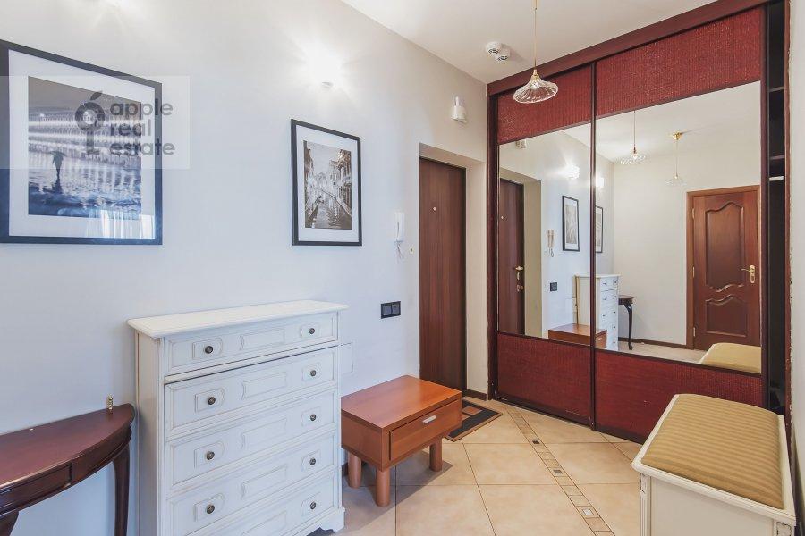 Corridor of the 3-room apartment at 2-y Polevoy per. 2k3