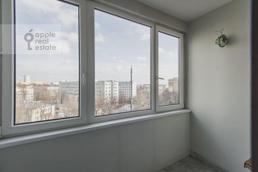 Balcony / Terrace / Loggia of the 3-room apartment at 2-y Polevoy per. 2k3