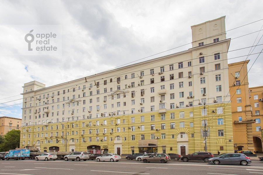 Photo of the house of the 3-room apartment at Bol'shaya Dorogomilovskaya ulitsa 9