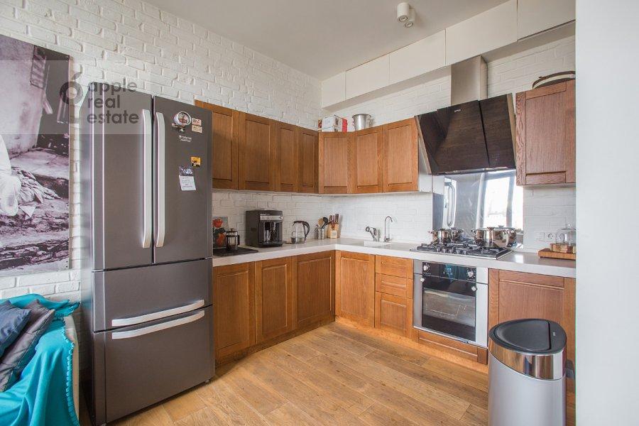Kitchen of the 3-room apartment at Bol'shaya Dorogomilovskaya ulitsa 9