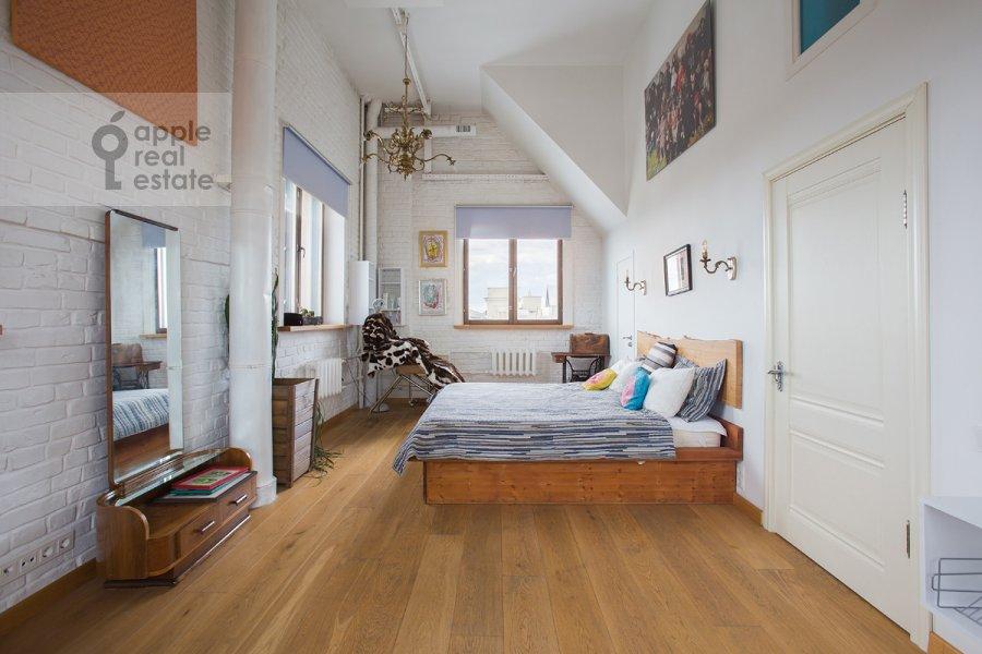 Bedroom of the 3-room apartment at Bol'shaya Dorogomilovskaya ulitsa 9