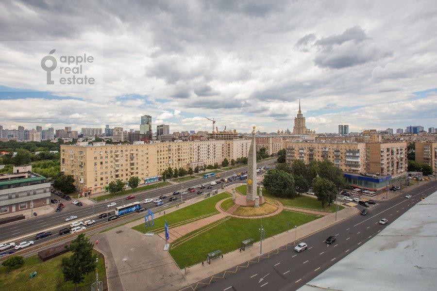 View from the window of the 3-room apartment at Bol'shaya Dorogomilovskaya ulitsa 9