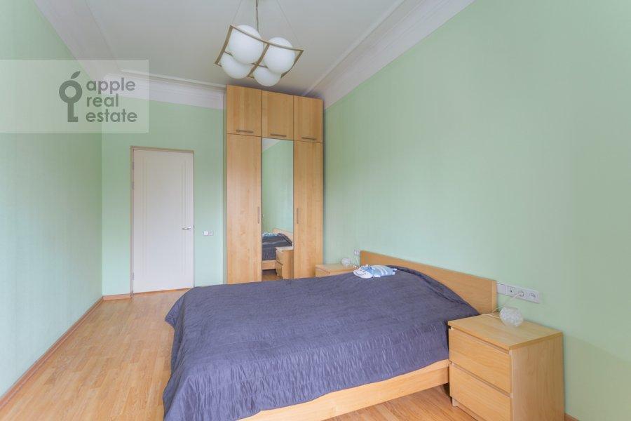 Bedroom of the 2-room apartment at Tarasa Shevchenko nab. 1