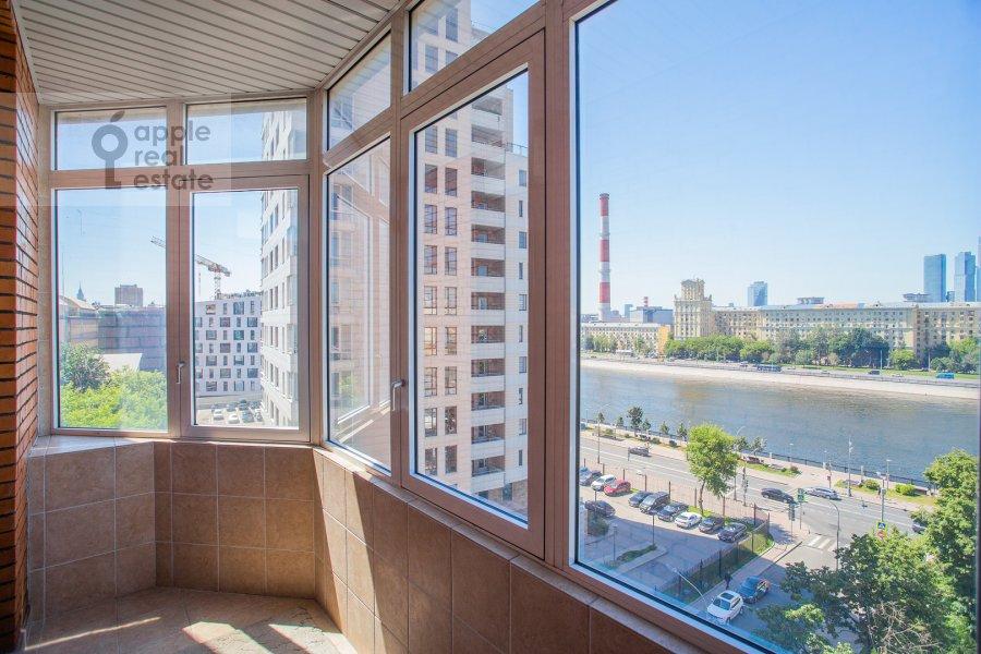 Балкон / Терраса / Лоджия в 6-комнатной квартире по адресу Саввинская наб. 7С3