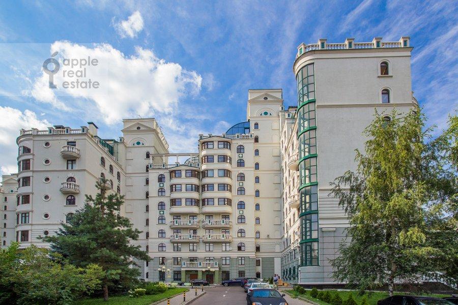 Photo of the house of the 4-room apartment at Krasnoproletarskaya ulitsa 7