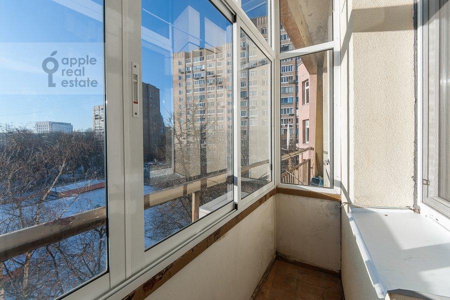 Балкон / Терраса / Лоджия в 2-комнатной квартире по адресу 2-ой Самотечный пер. 1