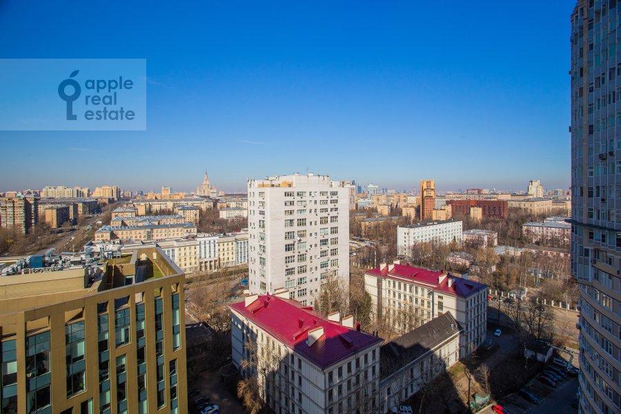 Вид из окна в 3-комнатной квартире по адресу Нахимовский пр-т. 56