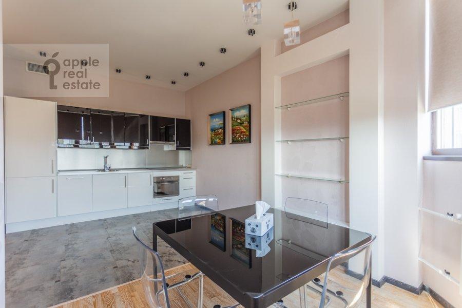 Kitchen of the 3-room apartment at Udal'tsova ul. 81
