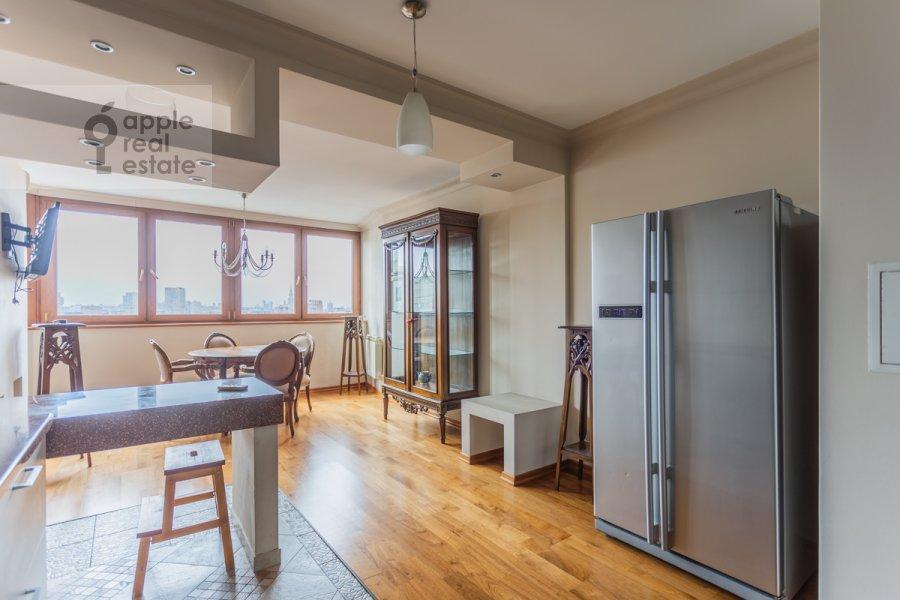 Kitchen of the 2-room apartment at Novocheremushkinskaya ulitsa 34k1