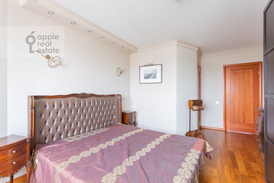 Bedroom of the 2-room apartment at Novocheremushkinskaya ulitsa 34k1