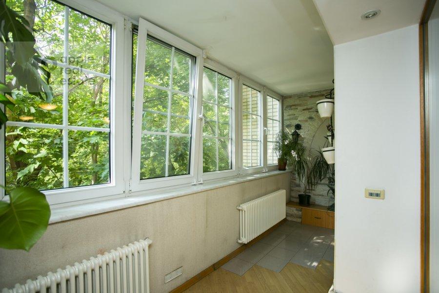 Balcony / Terrace / Loggia of the 3-room apartment at Vlas'evskiy Malyy per. 3k1