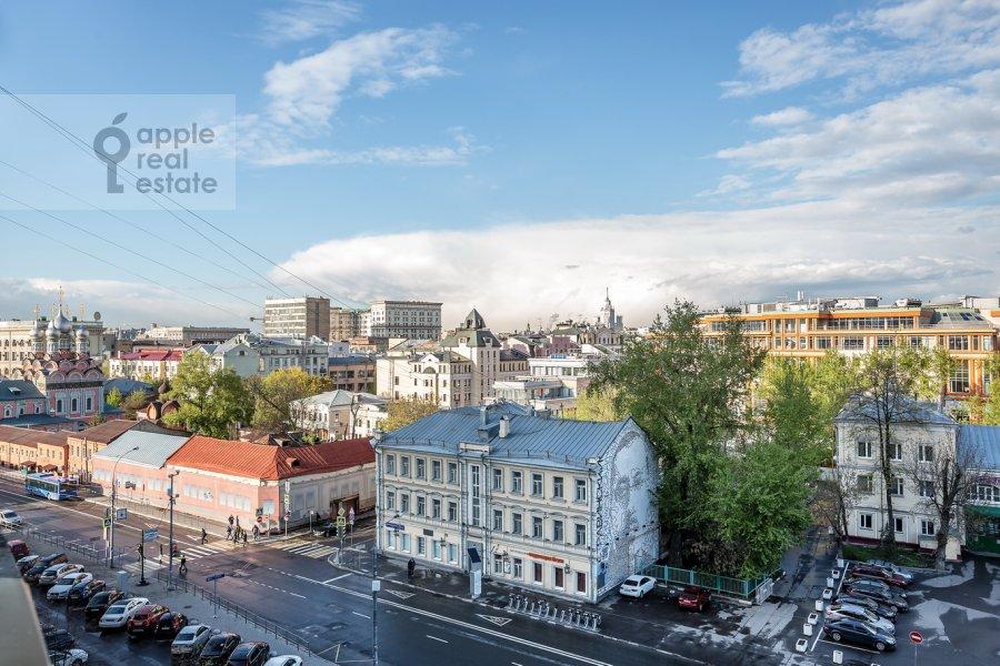 Вид из окна в 1-комнатной квартире по адресу Полянка Большая ул. 28с1