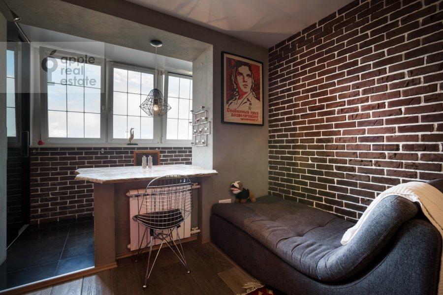 Кухня в 1-комнатной квартире по адресу Полянка Большая ул. 28с1