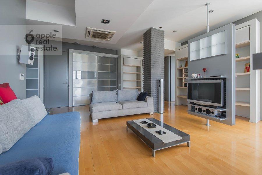 Kitchen of the 3-room apartment at Arkhitektora Vlasova 22