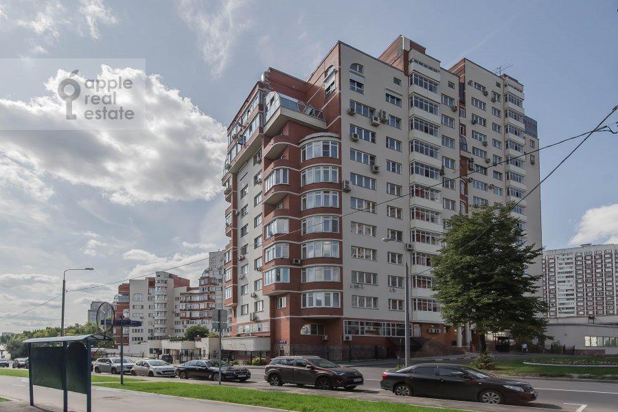 Photo of the house of the 3-room apartment at Arkhitektora Vlasova 22