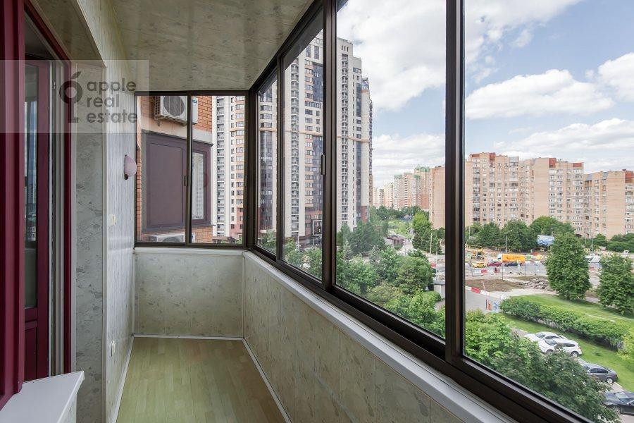 Балкон / Терраса / Лоджия в 2-комнатной квартире по адресу Удальцова ул. 32с1