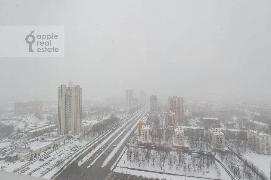 Вид из окна в 4-комнатной квартире по адресу Вернадского пр-т. 37