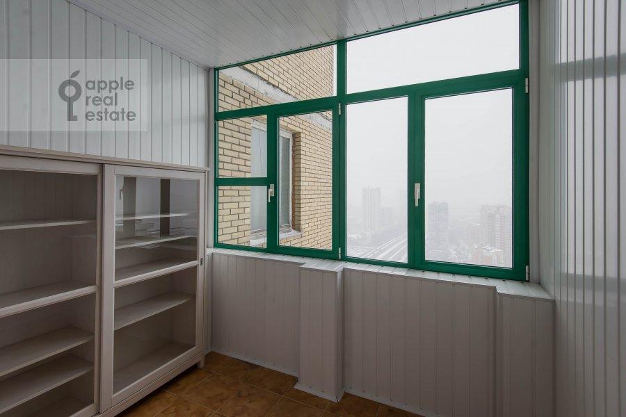 Балкон / Терраса / Лоджия в 4-комнатной квартире по адресу Вернадского пр-т. 37