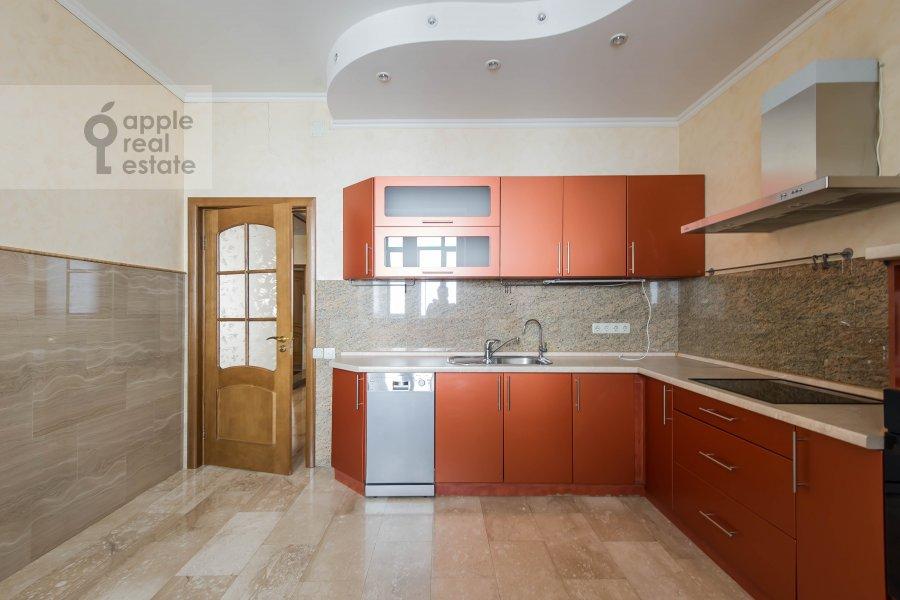 Кухня в 4-комнатной квартире по адресу Вернадского пр-т. 37