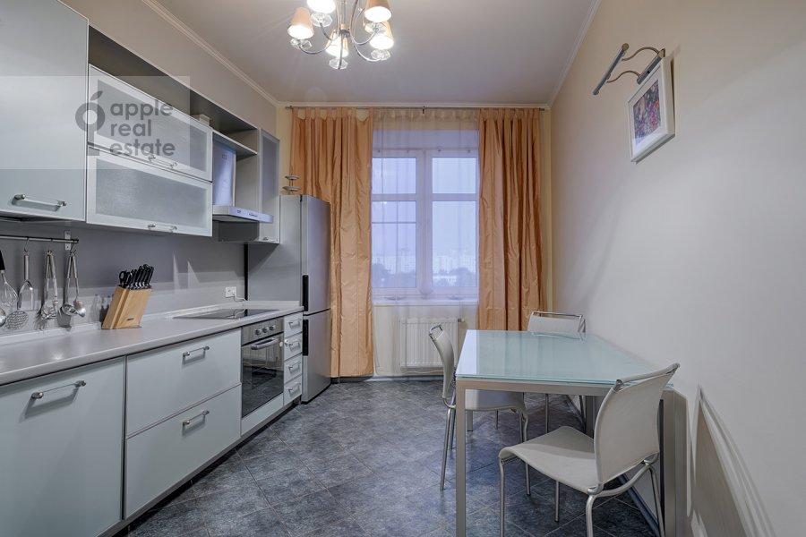 Kitchen of the 3-room apartment at Skhodnenskaya ulitsa 35S1
